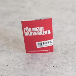 Guerilla-Kampagne für DIE LINKE Fraktion in Hamburg