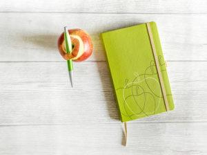 Appeel Notizbuch aus Apfelresten