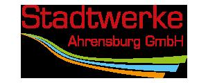 Logo und Link Stadtwerke Ahrensburg