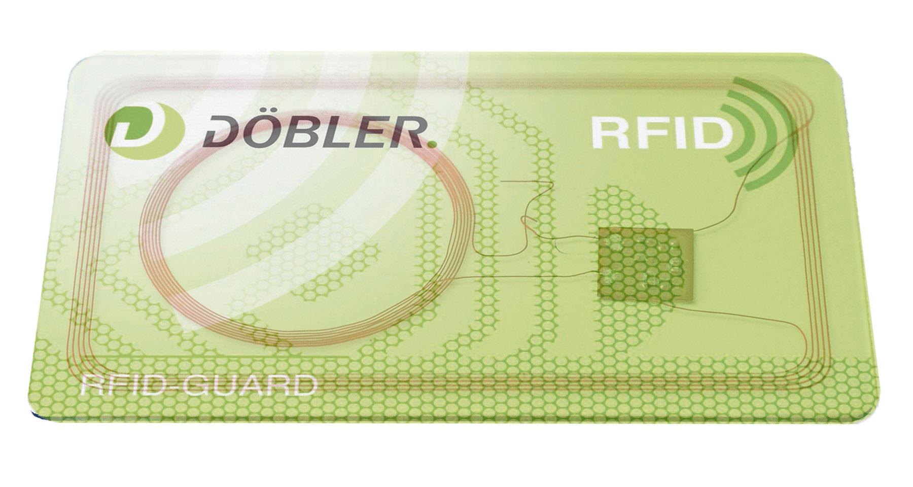 RFID Guard Karte, transparent