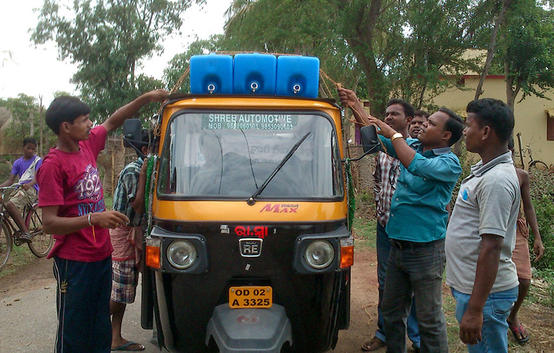 Climate Partner Project - Sauberes Trinkwasser in Odisha Indien